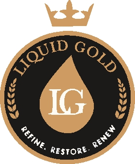 Liquid gold sticky logo